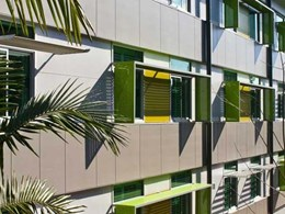 Fibre cement cladding creates sleek finish for Elanora Aged Care facility