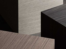 Elton surfaces bring warmth and texture to interior spaces