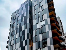 Fairview's natural stone cladding achieves modern frontage for Bondi Junction building