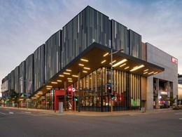Sustainable timber look composite adds a striking look to HOYTS EntX