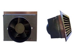 Envirofan quad fan system a quieter solution than noisy 150mm sub floor ventilation systems