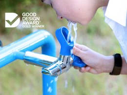 Enware's Blueline bubbler wins Good Design Award