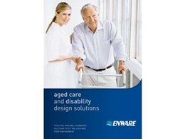 New brochure on Aged Care and Disability Design Solutions for architects