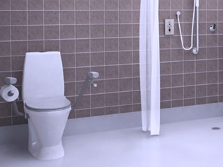 Enware wellbeing bathroom solutions aged care