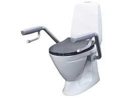 Enware CARE601 IFO toilet suite providing independence, safety and dignity