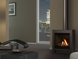 Escea FS730 freestanding gas fireplaces with Smart Heat control