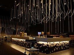 LED rope lights customised for Event Cinemas, Springfield VIC