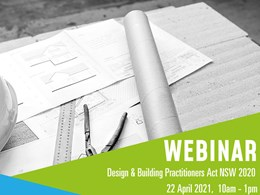 Design and Building Practitioners Act 2020 (NSW) Webinar