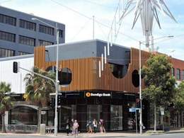 Covet materials used in complex Central Geelong office project