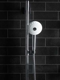 Kohler's newest showerhead takes inspiration from a dahlia