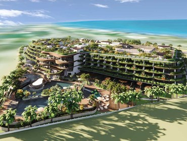 Fairmont Port Douglas is a $300-million luxury resort developed by Chiodo