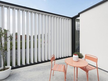 Louvretec rectangular sun louvres for contemporary sun protection