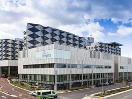$2b Fiona Stanley Hospital features Kingspan in concrete soffit, roof and wall applications