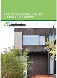 Fire performance guide to timber cladding
