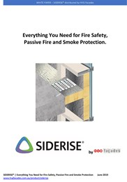 Everything you need for fire safety, passive fire and smoke protection