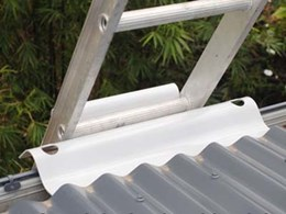 LadderLink ladder stabilisers providing safe access to height safety systems