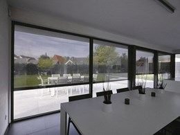 Cool, comfortable indoor living with Renson's external solar shading and window louvres