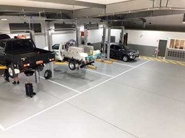 Flowcrete's resin flooring solutions for the automotive sector