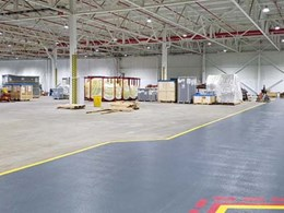 High performance resin flooring installed at Ford engine plant