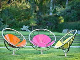 Flower Chair by Street Furniture Australia up for a Landezine LILA award
