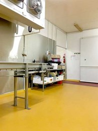 Flowcrete releases new antimicrobial flooring system with striking good looks for food environments