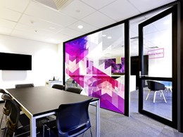 Custom window film designs for large format murals, shower screens and splashbacks