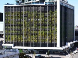 Tensile's cabling and stainless steel mesh systems support Fytogreen's green façades