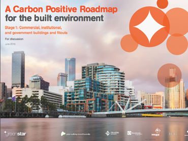The Green Building Council of Australia (GBCA) has released a new Carbon Positive Roadmap discussion paper, which establishes the steps required for the country's built environment to achieve net zero emissions by 2050. Image: Supplied