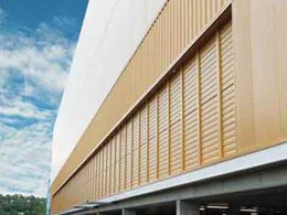 300 louvres to provide ventilation and smoke control at Gold Coast Sports and Leisure Centre
