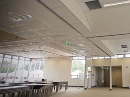 GTEK plasterboard installation wins Award of Excellence for plasterer at Mt Gambier college