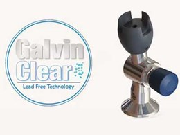 New GalvinClear lead-free taps for safe drinking water