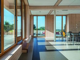 Nora floors specified for 'the most sustainable office in the world'