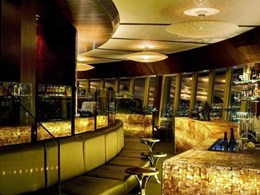 Custom lighting design at 360 restaurant in Sydney