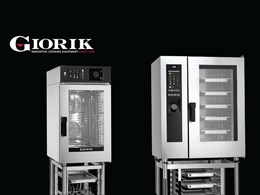 Giorik Premium combi ovens saving time, space and money at food service venues