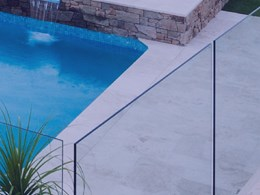 Resort style living at home with glass pool fencing