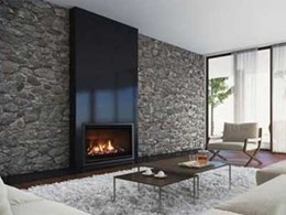 Escea's new slimline, energy efficient gas fireplace in a bigger and better model