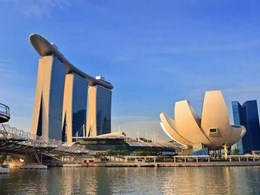 Elsafe Sentinel II in-room safes securing guests' valuables at Marina Bay Sands, Singapore