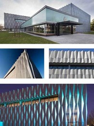 Peter Elliott Architecture specifies aluminium panels from Universal Anodisers for Geelong Grammar facade