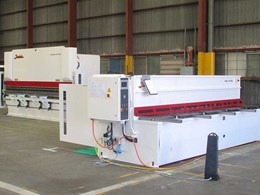 New guillotine and brake press machines available in VIC