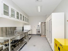 Gyprock plasterboard fits the brief for new Cochlear research lab