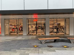 H+M installs ATDC's security shutters at Rundle Mall Adelaide store