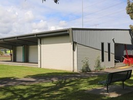 Innova façade system provides robust cladding for sports pavilion in Hawthorn VIC