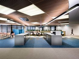 BOLON Studio tiles meet wellness design goals at new HBF Perth headquarters