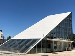 AIA Award winning project uses Swisspearl fibre cement panels