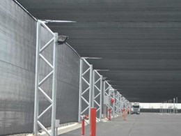 MakMax offers hail net structures for long term vehicle parking and storage