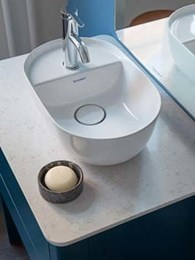 Nordic elegance in your bathroom with Luv series washbasins