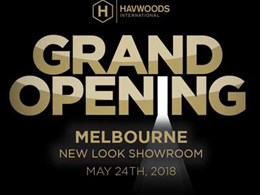 Havwoods Melbourne Showroom to open on 24th May
