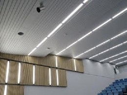 Hawko 100 Recessed supplied for Edith Cowan University lecture hall within challenging timeline