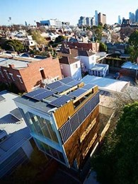 Enphase Energy and Yingli Solar install PV system at landmark sustainable living project in Melbourne