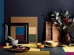 Curating nurturing environments in homes with new Embrace Colour Library